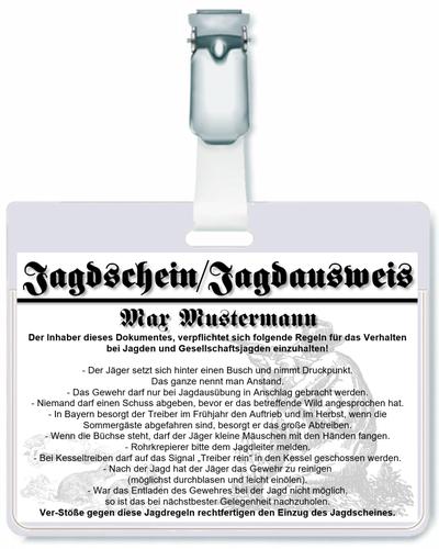 Jagdschein - AU-044