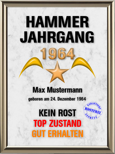 Hammer-Wunsch-Jahrgang - UK-639